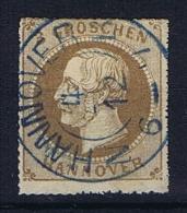 Deutsche Reich, Hannover Mi 25 Used - Hannover