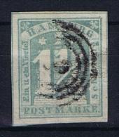 Deutsche Reich, Hamburg  Mi 8b Used  1864 Gute Zentrierung,good Centering, 2x Signed/signiert/ Approvato - Hamburg