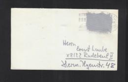 BRD Brief In Die DDR Postkrieg - [7] Federal Republic