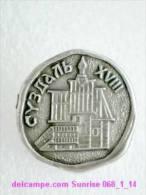 Set Russia And Soviet Towns 6: Suzdal - Kremlin / Soviet Badge USSR _068_1_14_t3938 - Cities