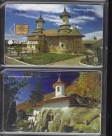 Romania, Phonecard, Romtelecom, 80.000lei,  2003, Monastery Rasca, Monastery Namaesti - Andere