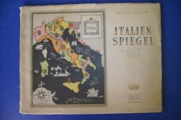PFS/42 Album De Agostini ITALIEN SPIEGEL Ed.Italgeo 1943/CARTINE ITALIA ILLUSTRATORE NICOULINE - Maps