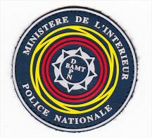 Ecusson-insigne Police Nationale Plastifié -- MI - Police & Gendarmerie