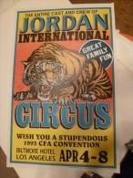 Circus Cirque Circo Zirkus Affiche Poster Cirkusz Jordan - Posters