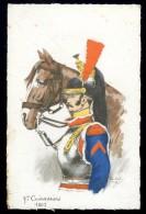 Cpa  Militaria  7ème Cuirassiers  1807  Illustrateur Pierre Albert Leroux    A3RK11 - Personnages