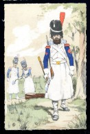 Cpa  Militaria  (3)  Illustrateur Monogramme ER    A3RK11 - Personen