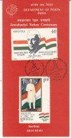 Stamped Information On Jawaharlal Nehru, Potrait By Svetoslav Roerich Of RUSSIA / USSR,  India 1988 - Covers & Documents