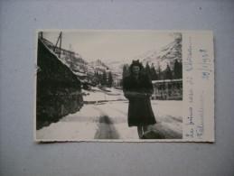 """Cartolina """"Le Prime Case Di CHIESA...Valmalenco 1948"""" (Sondrio) - Sondrio"""