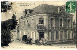 53 SAINT DENIS D ANJOU HOTEL DU LION D OR - France