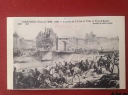 HISTOIRE PARIS Prise Hotel De Ville Pont D´Arcole Révolution 1830 Musée Versailles Nathan - Unclassified