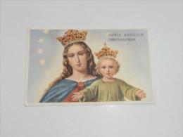 SANTINI/SANTINO - MARIA AUXILIUM CHRISTIANORUM - Images Religieuses