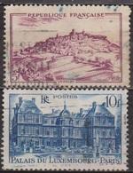 Palais Du Luxembourg, Paris - FRANCE - Vézelay - N° 759-760 - 1946 - Oblitérés