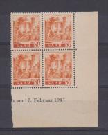 SARRE // Coin Daté // N 213// 80 Pf //  NEUFS **  //  17/02/1947 - Saar