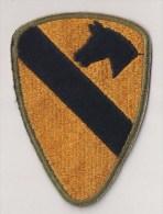 """WWII écusson Patch """"1st Cavalry"""" USA - Stoffabzeichen"""