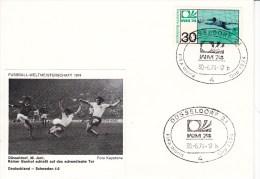FUSSBALL-FOOTBALL-SOCCER- CALCIO, Western Germany, 1974, Special Cancellation !! - World Cup