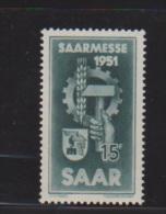 SARRE // N 293  //  15F Vert //  NEUFS **  //  Côte 5 € - Saar