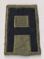 "WWII écusson Patch ""1st Army"" USA - Stoffabzeichen"