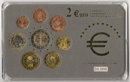 Coffret  Autriche  BU  NEUF   -   Série Spéciale Avec  2€ Euros Commémorative 2005 - Autriche