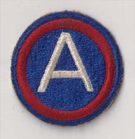 "WWII écusson Patch ""3rd Army"" USA - Stoffabzeichen"
