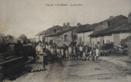 54 - VILLEY-SAINT-ETIENNE - Grande Rue Très Animée - France