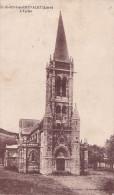ST JUST EN CHEVALET  L'EGLISE (dil22) - Autres Communes