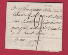 LETTRE DEPART PARIS  //  1 DEC 1825 - Postmark Collection (Covers)