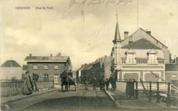 Izegem / Iseghem - Rue Du Pont - Geanimeerd -1915  Feldpost ( Verso Zien ) - Izegem
