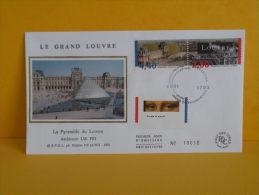 FDC- Le Grand Louvre - Paris -  . .1993 - 1er Jour - FDC