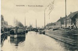 Izegem / Iseghem - Vaart En Zuidkaai -1918 ( Verso Zien ) - Izegem
