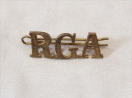 """Insigne Shoulder Title """"royal Garrison Artillery"""" - Stoffabzeichen"""