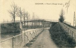 Izegem / Iseghem - Vaart ( Hooge Brug ) -1918 ( Verso Zien ) - Izegem