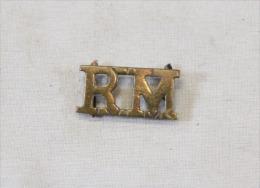 """Insigne Shoulder Title """"royal Marines"""" - Stoffabzeichen"""