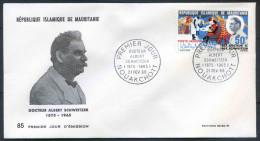 PJM85Mauritanie -  Doc. Albert Schweitez - 21 Fevrier 1966 - Mauritanië (1960-...)