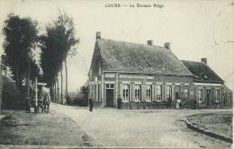 """Locre  - La Douane Belge  - Estaminet """" Au Lion Belge """" ( Verso Zien ) - Heuvelland"""