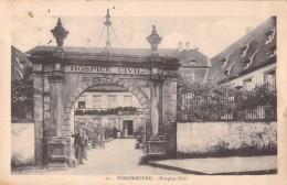 67 WISSEMBOURG HOSPICE CIVIL - Wissembourg