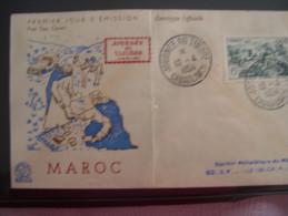 MAROC  JOURNEE DU TIMBRE 1954 - Mali (1959-...)