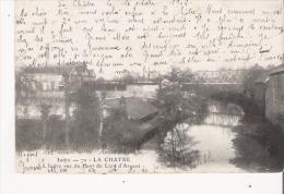 LA CHATRE INDRE 7 L'INDRE VUE DU PONT DU LION D'ARGENT  1902 - La Chatre