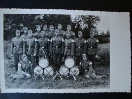 Fotokarte , Militärkapelle, Ungelaufen ! - Weltkrieg 1939-45