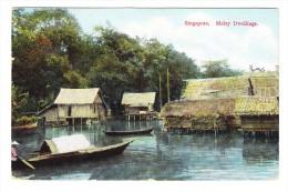 Singapore - Malay Dwellings - - Malaysia