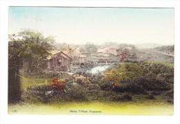 Singapore - Malay Village - - Malaysia