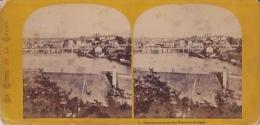 Photo Stéréoscopique, Genève, Vue Prise Des Hauteurs De Saint Jean (avant 1900) - Photos Stéréoscopiques