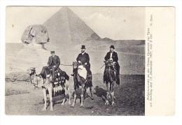 Ägypten - Vor Den Pyramiden Und Sphynx - - Egypte