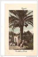 EGYPTE CUEILLETTES DES DATTES ,PERSONNAGES,COULEUR REF 16944 - Cultures