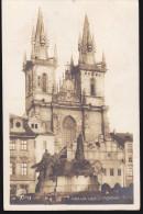 CPA - (Tchéquie) Carte Photo - Prague / Praha - Husuv Pomnik Tyn - Tschechische Republik
