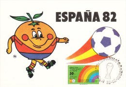 FUSSBALL-FOOTBALL-SOCCER- CALCIO, Spain, 1982, Special Cancellation !! - Coppa Del Mondo
