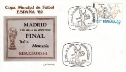 FUSSBALL-FOOTBALL-SOCCER- CALCIO, Spain, 1982, Special Cancellation !! - Coupe Du Monde