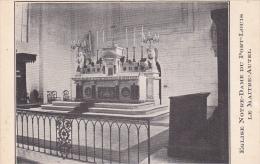 22405 Eglise Notre Dame De Port Louis, Maitre Autel -sans éd -