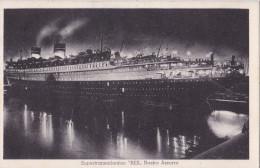 REX SUPERTRANSATLANTICO NASTRO AZZURRO VG 1934  AUTENTICA 100% - Cartes Postales