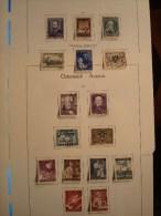 AUTRICHE ANNEE 1954 . 829/844  OBLITERES - Annate Complete