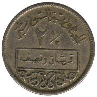 SIRIA/SYRIA 2-1/2 PIASTRES AH1375-1956 #3901A - Syrië